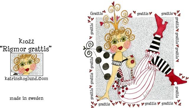 grattis grattis katrin skoglund – Litet kort – grattis grattis   Lyckohjärtat grattis grattis